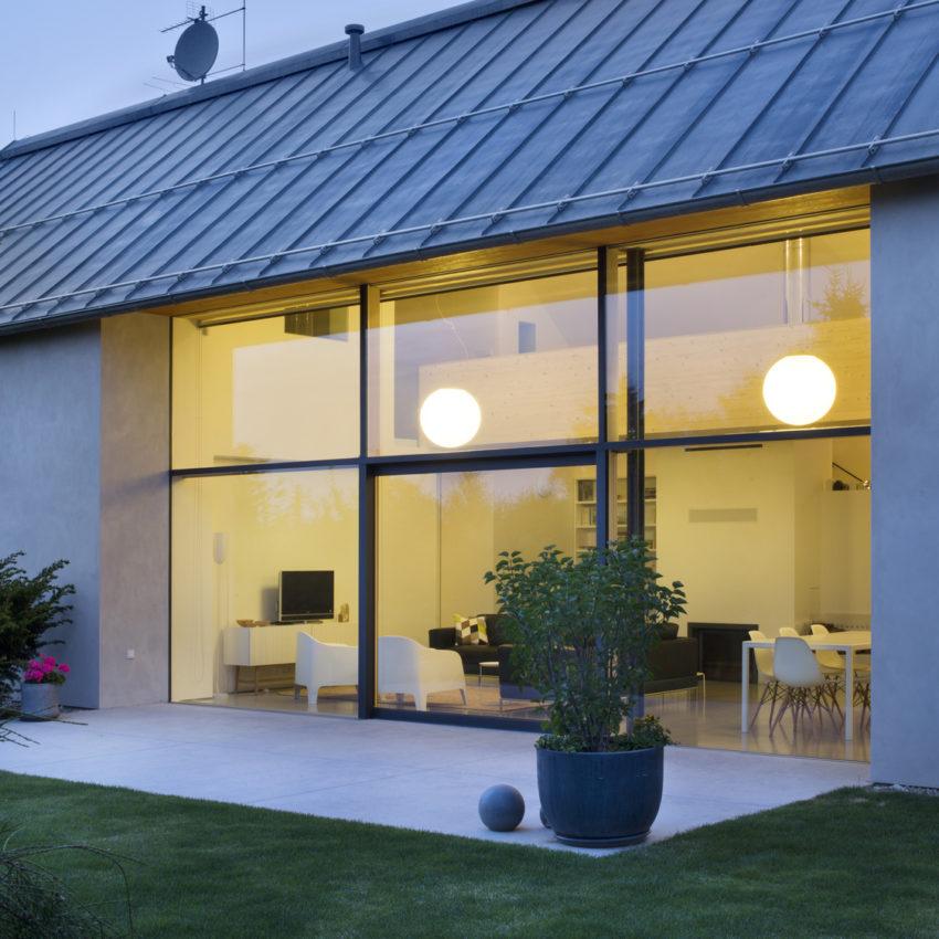 Okna aluminiowe fasada