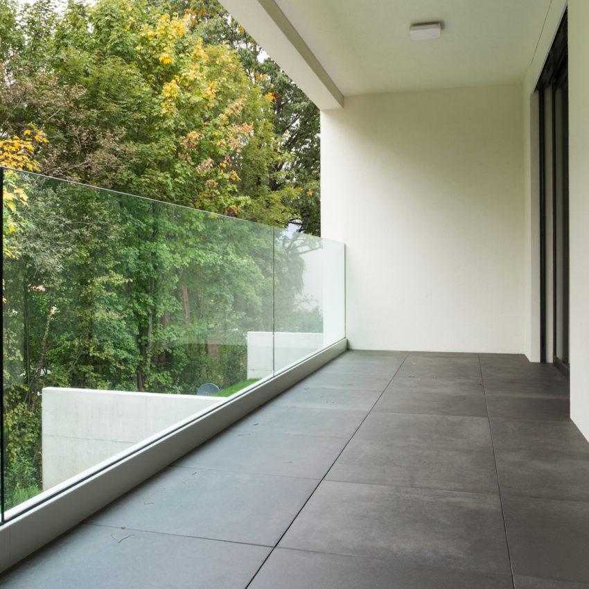 okna aluminiowe balustrada